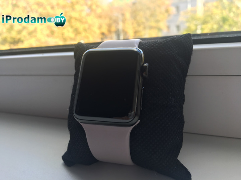 Apple Watch Series 2 38 mm Stainless Steel with Milanese