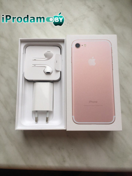 Iphone 7 128 gb gold rose