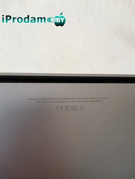 MacBook Pro (13 дюймов, 2020 г., два порта Thunderbolt 3)
